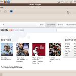 Quer ver a cara do Ubuntu One Music Store?