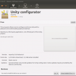 MyUnity na Central de Programas do Ubuntu… mas no 12.04.
