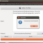 Extraia o áudio MP3 de um arquivo FLV