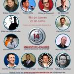Rio de Janeiro recebe o 14º Encontro Locaweb de Profissionais de Internet