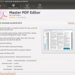 Edite seus pdfs com o Master PDF Editor