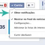 Facebook esta limando conteúdo no seu timeline
