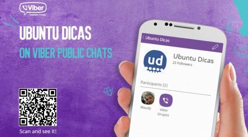Viber - grupo aberto do Ubuntu