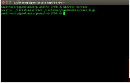 Criando Script pelo terminal
