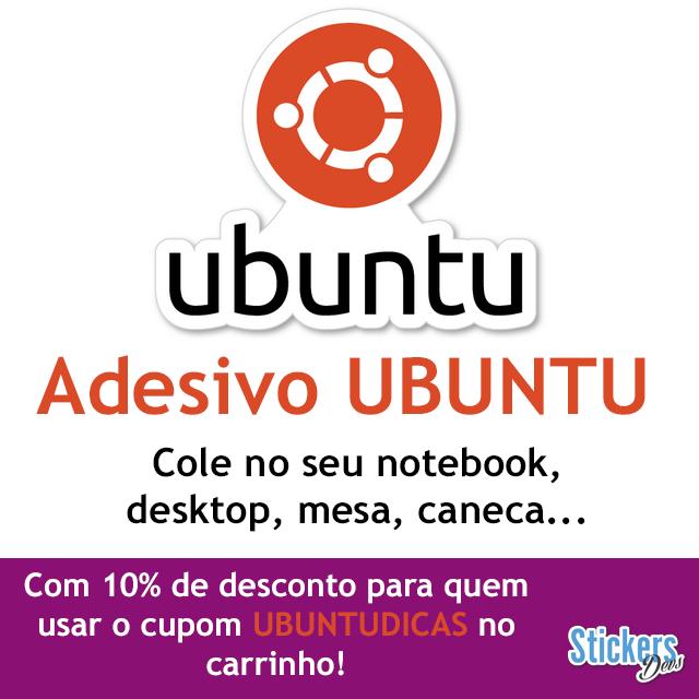 Adesivo Ubuntu
